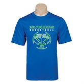 Performance Royal Tee-Islanders Basketball Stacked