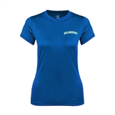 Ladies Syntrel Performance Royal Tee-Arched Islanders