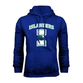 Royal Fleece Hoodie-Islanders w/I