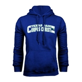 Royal Fleece Hoodie-Arched Texas A&M Corpus Christi Design