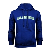 Royal Fleece Hoodie-Arched Islanders