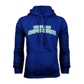 Royal Fleece Hoodie-Arched Texas A&M Corpus Christi