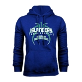 Royal Fleece Hoodie-Islanders Basketball
