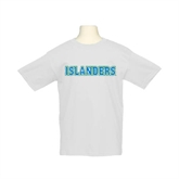 Youth White T Shirt-Islanders