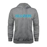 Grey Fleece Hood-Islanders