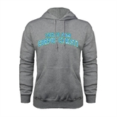 Grey Fleece Hoodie-Arched Texas A&M Corpus Christi