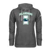 Adidas Climawarm Charcoal Team Issue Hoodie-Islanders w/I