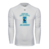 Under Armour White Long Sleeve Tech Tee-Texas A&M Corpus Christi Islanders
