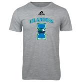 Adidas Sport Grey Logo T Shirt-Islanders w/I