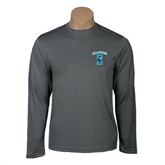 Performance Steel Longsleeve Shirt-Islanders w/I