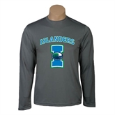 Performance Steel Longsleeve Shirt-Islanders w/I