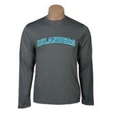 Performance Steel Longsleeve Shirt-Arched Islanders