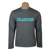 Performance Steel Longsleeve Shirt-Islanders