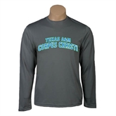 Performance Steel Longsleeve Shirt-Arched Texas A&M Corpus Christi