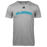 Adidas Climalite Sport Grey Ultimate Performance Tee-Arched Islanders