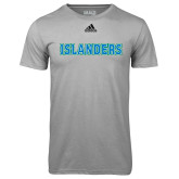 Adidas Climalite Sport Grey Ultimate Performance Tee-Islanders