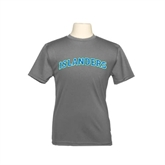 Youth Syntrel Performance Steel Training Tee-Arched Islanders