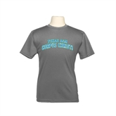 Youth Syntrel Performance Steel Training Tee-Arched Texas A&M Corpus Christi