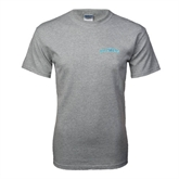Grey T Shirt-Arched Islanders