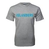 Grey T Shirt-Islanders