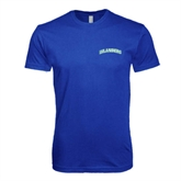 Next Level SoftStyle Royal T Shirt-Arched Islanders
