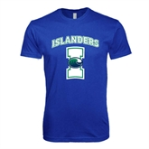 Next Level SoftStyle Royal T Shirt-Islanders w/I