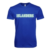 Next Level SoftStyle Royal T Shirt-Islanders
