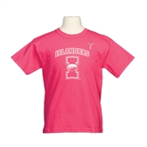 Youth Cyber Pink T Shirt-Kay Yow Breast Cancer Fund Ribbon