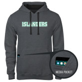 Contemporary Sofspun Charcoal Heather Hoodie-Islanders