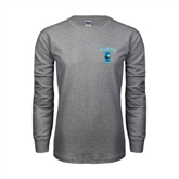 Grey Long Sleeve TShirt-Islanders w/I