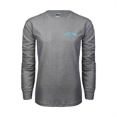 Grey Long Sleeve TShirt-Arched Islanders