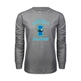 Grey Long Sleeve TShirt-Texas A&M Corpus Christi Islanders