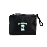 Koozie Six Pack Black Cooler-Islanders w/I