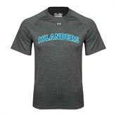 Under Armour Carbon Heather Tech Tee-Arched Islanders