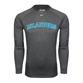 Under Armour Carbon Heather Long Sleeve Tech Tee-Arched Islanders