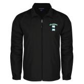 Full Zip Black Wind Jacket-Islanders w/I