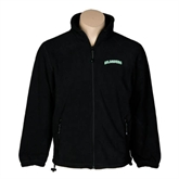 Fleece Full Zip Black Jacket-Arched Islanders