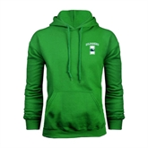 Kelly Green Fleece Hoodie-Islanders w/I