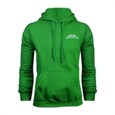 Kelly Green Fleece Hoodie-Arched Texas A&M Corpus Christi