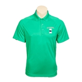 Kelly Green Textured Saddle Shoulder Polo-Islanders w/I