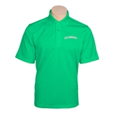 Kelly Green Mini Stripe Polo-Arched Islanders