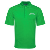 Kelly Green Mini Stripe Polo-Arched Texas A&M Corpus Christi