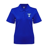 Ladies Easycare Royal Pique Polo-Islanders w/I