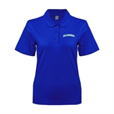 Ladies Easycare Royal Pique Polo-Arched Islanders