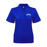 Ladies Easycare Royal Pique Polo-Arched Texas A&M Corpus Christi