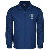 Full Zip Royal Wind Jacket-Islanders w/I