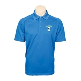 Royal Textured Saddle Shoulder Polo-Islanders w/I