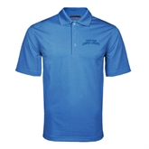 Light Blue Mini Stripe Polo-Arched Texas A&M Corpus Christi