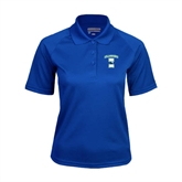 Ladies Royal Textured Saddle Shoulder Polo-Islanders w/I