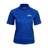 Ladies Royal Textured Saddle Shoulder Polo-Arched Texas A&M Corpus Christi